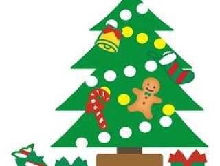 可爱的圣诞树