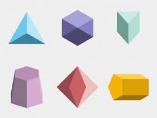 几何形状矢量