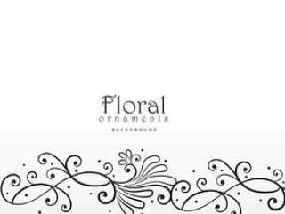 美丽的花卉设计元素