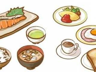 早餐日式西式