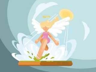 天使的翅膀插图