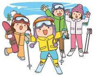 我来到滑雪家庭背景