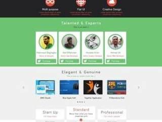 国外个人网页工作室网站PSD