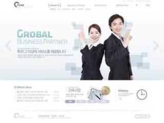 企业网站模板PSD分层(764)
