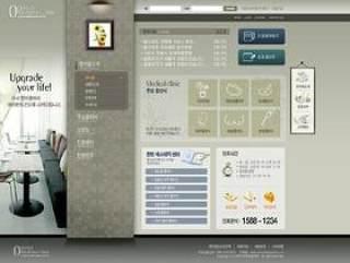 家居装饰类网站模板(04)