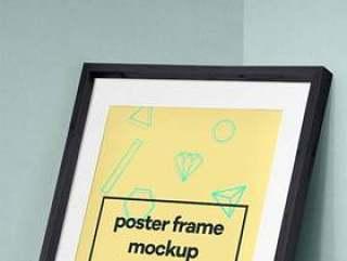 Psd Poster Frame Mockup Vol8