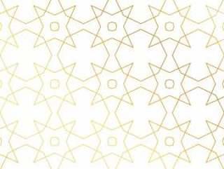 抽象的金色几何图案背景