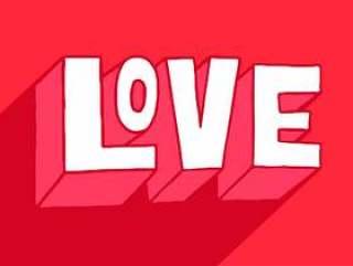 情人节爱情刻字