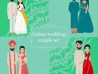 印度婚礼情侣集合