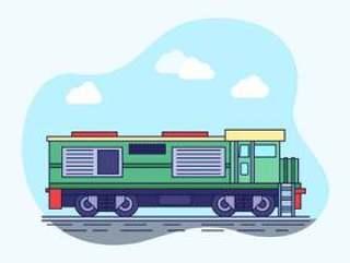 杰出的机车载体