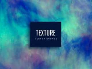 用水彩做的蓝色肮脏的grunge纹理背景