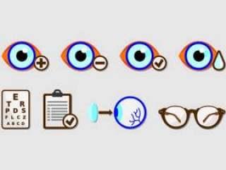 套眼睛测试图标