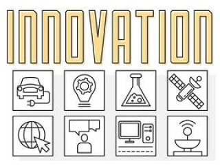 线性技术创新标志