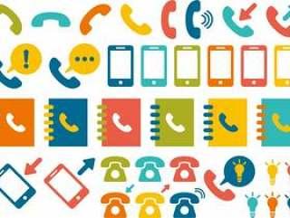 电话标记图标集合