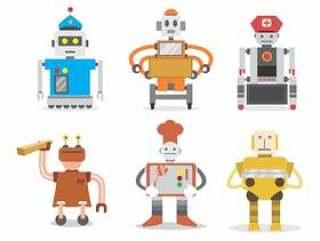 机器人工人矢量