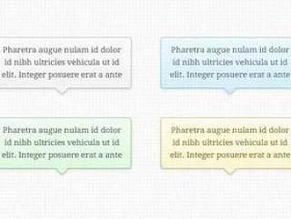 对话框—psd分层素材