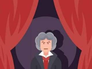 贝多芬弹钢琴