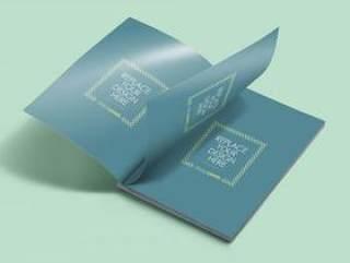 高清 杂志展示模板 PSD源文件