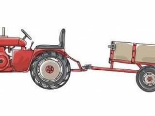古董拖拉机