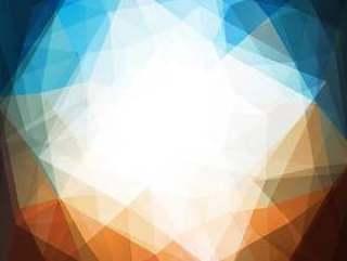 圆形三角形抽象背景