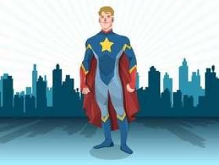 常设的超级英雄矢量