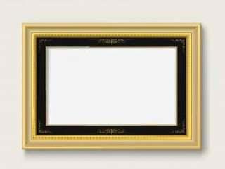 金复古相框