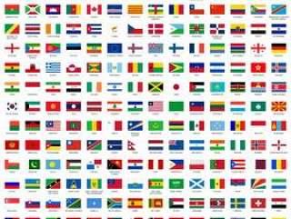 世界国旗世界国旗210个国家