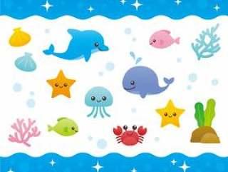 有趣的海洋生物