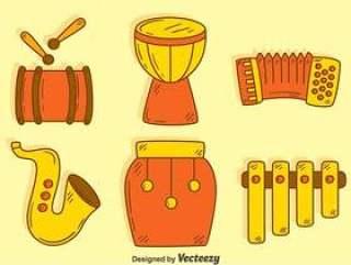 手拉的传统乐器传染媒介