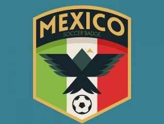 墨西哥世界杯足球徽章