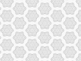 星和线的抽象图案