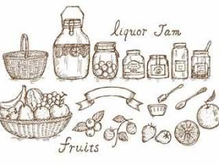 水果果酱利口酒