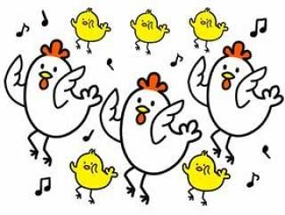 鸡和小鸡舞蹈版本2
