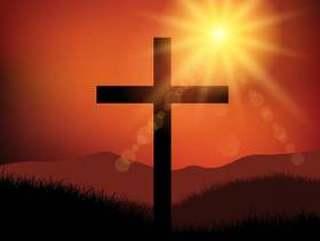 复活节周五十字风景