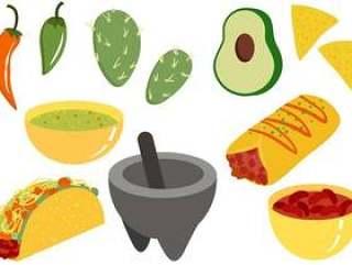 墨西哥食物2载体