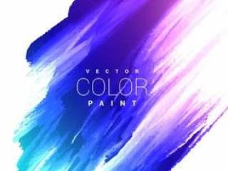多彩的明亮墨迹染色矢量设计