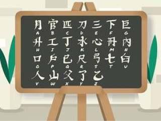 在黑板传染媒介的日本信件