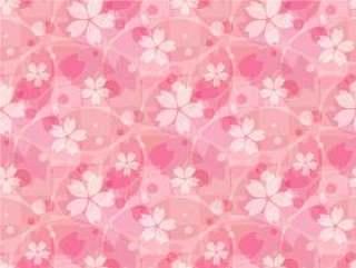 樱桃背景3_模式_粉红色