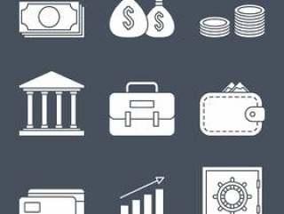 财务线图标