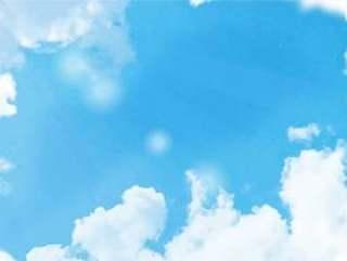 春天的天空