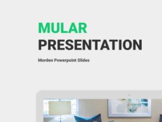 现代商业Powerpoint,主题演讲和谷歌ppt模板幻灯片演示,Mular演示