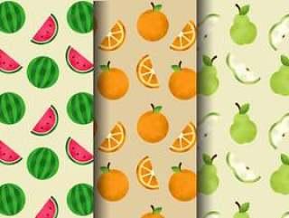 可爱的水果图案