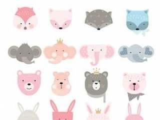 卡通动物图标设置