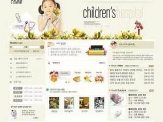 儿童娱乐网站模板(26)