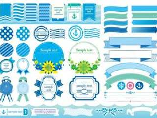 框架/标签/装饰框架/夏季材料