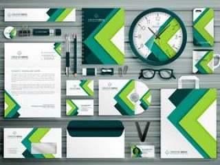 公司业务文具模板设置与gr的样机设计
