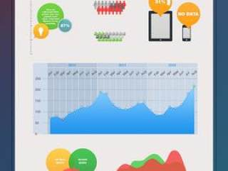 信息图表PSD分层文件