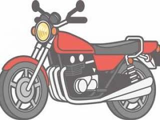 摩托车 - 摩托车分开 - 全身