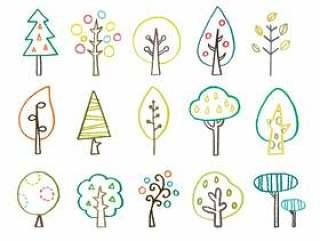 斯堪的纳维亚风格的木材绘图