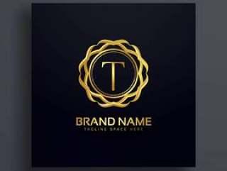 字母T豪华商标概念设计